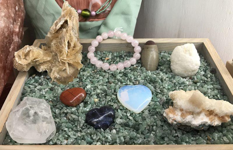 Harten, kristallen en apofyliet